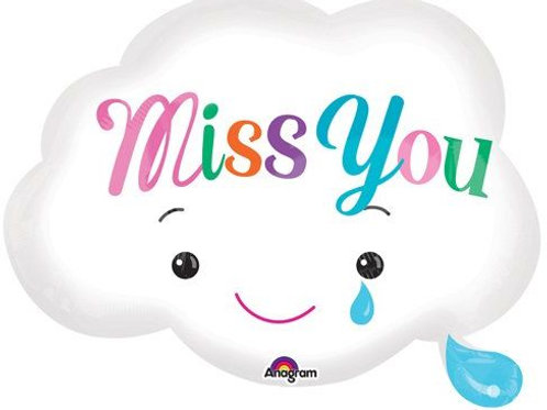 Miss You Cloud 18""