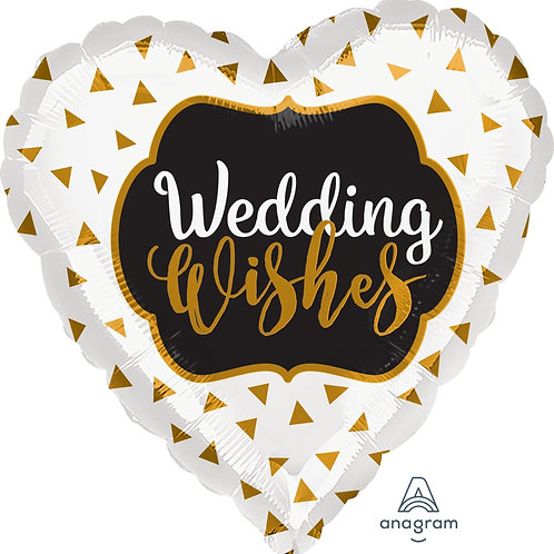 Wedding Wishes 17""