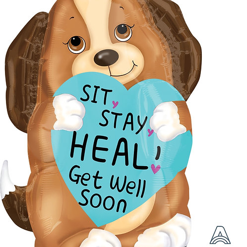 Sit Stay Heal Puppy 17""