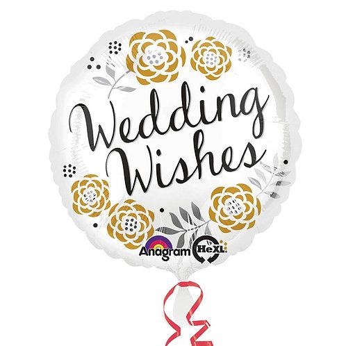 "Wedding Wishes 17"" 2"