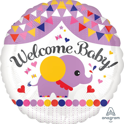 """Welcome Baby 17"""""""
