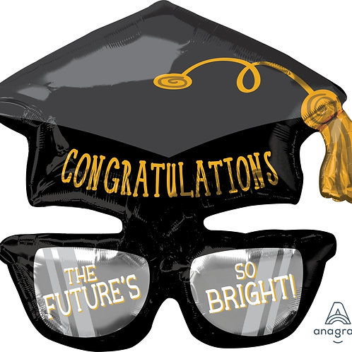 Congratulation Hat & Glasses 27""