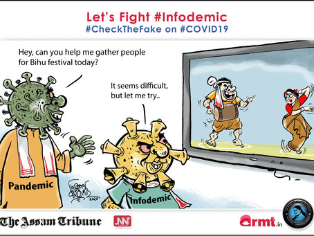#CheckTheFake-14: Beware of #Infodemic mess this Bihu!