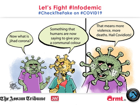 #CheckTheFake-15 #Infodemic may cause more deaths than pandemic