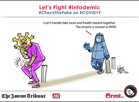 #CheckTheFake-29: WHO risks the control of both infodemic and pandemic