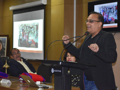 Prof. Mohan Dutta spoke about Global Health Inequalities