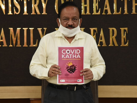 COVID Katha, a scientific resolution to defeat pandemic: Dr. Harsh Vardhan