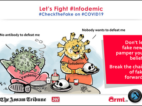 #CheckTheFake -10: #Infodemic can make you sick even while maintaining social distance