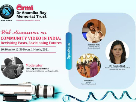ARMT hosts an enlightening web-discussion related to community videos