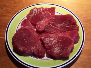 This is fresh tuna from Maldives.