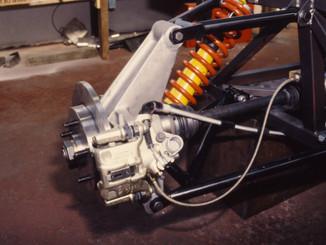 Sienna Countach rear suspension