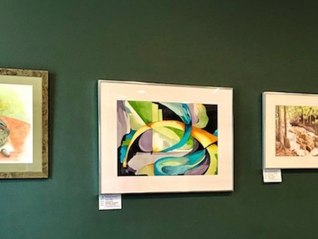 Currently on Display at the Crouse Medical Practice in Manlius, NY
