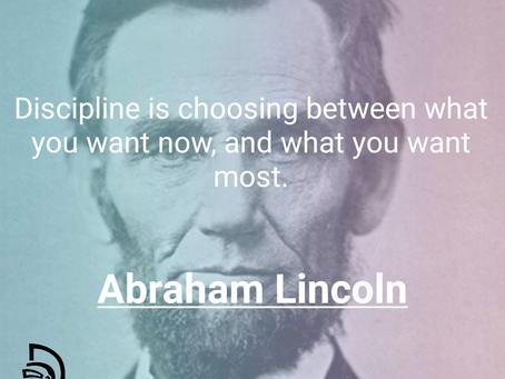 Discipline Is Necessary