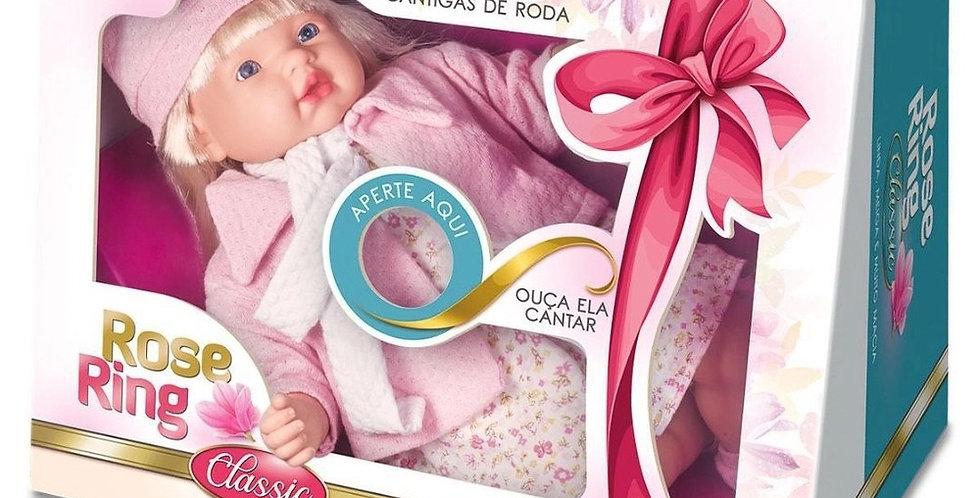 BONECA ROSE RING CLASSIC 3 CANTIGAS