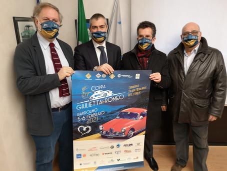 121 vetture al via: è record alla Coppa Giulietta&Romeo 2021