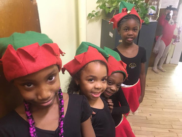 Special Christmas even for the Babies and little Dancers