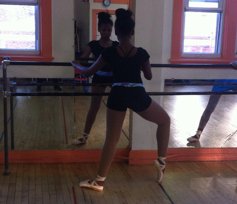 Ballet Toe Training with Director Andrea Major