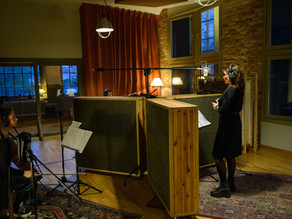 Studio recording with Karin Bengmark Project