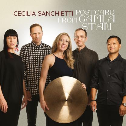 Happy release day, Cecilia Sanchietti Swedish Quartet