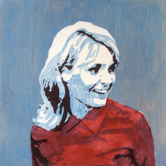 A Woman Looking Sideways