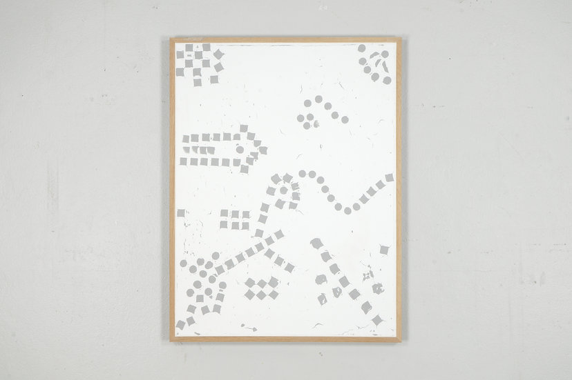 #297 Turned Table -  Dots And Pixels