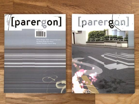 Parergon   Ny musikk