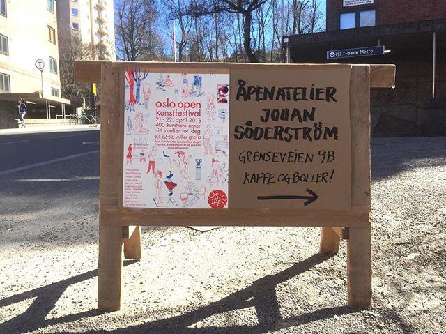 Åpen atelier Johan Söderström
