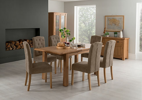 Vida Breeze Small 6 Emerson Taupe Chairs
