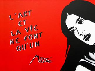 Miss.Tic: la sorcière mutine du street art français