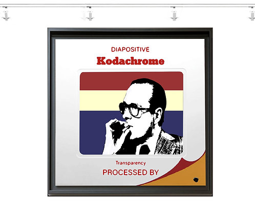Chirac For Ever - 50x50 cm