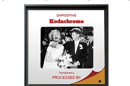 """Tableau """"Mrs Kennedy"""" de Mr Cute - John F. Kennedy et Marilyn Monroe - Pop Art"""