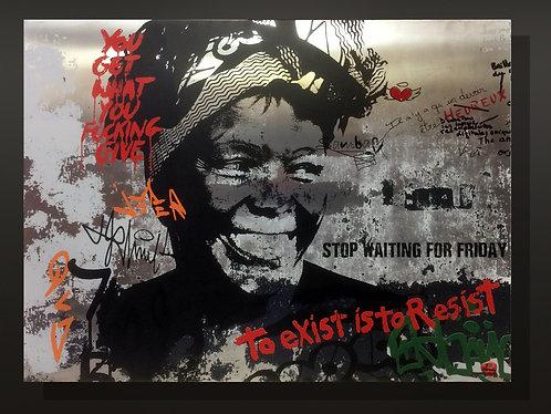 Wangari Muta Maathai - 110 x 150 cm
