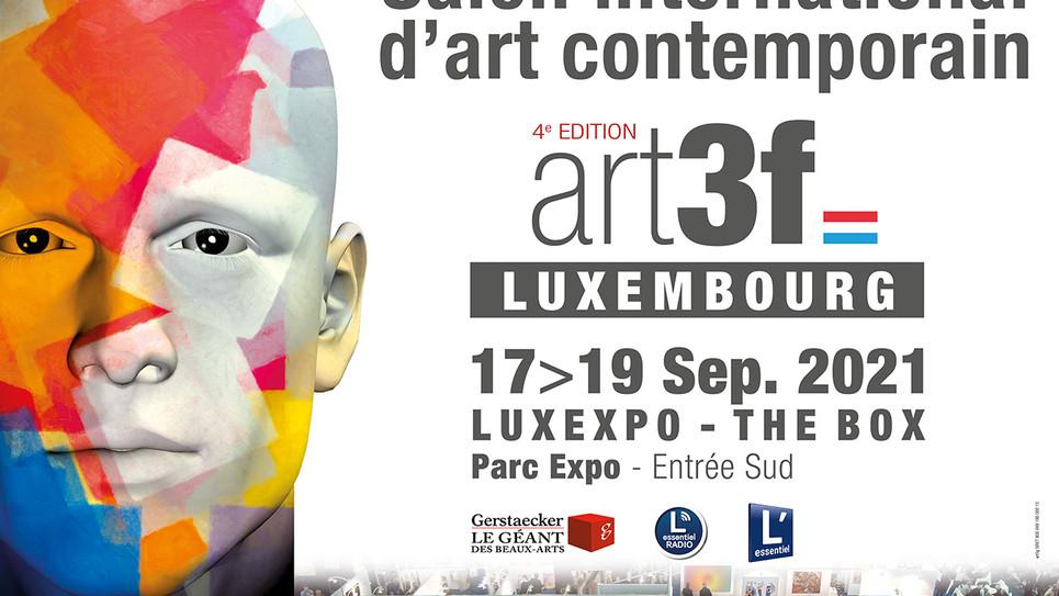 """Salon International d' Art Contemporain ART3f Luxembourg """"post covid"""" du 17 au 19 septembre  !"""