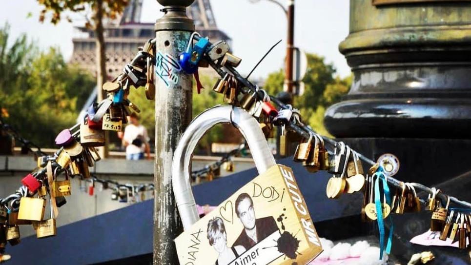 """Chassez les """"Mr Cute Love Padlocks"""" dans Paris et taguez les sur l'instagram de Mr Cute @mrcuteparis"""
