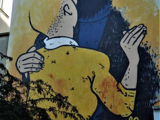 COMBO : le street artiste spécialiste des opérations coup de poing