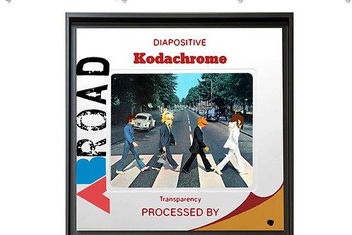 "Tableau ""AB Road Cartoons"" de Mr Cute - The Beatles Abbey Road - Pop Art"