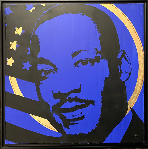 Luther King - Icone - 80x80 cm