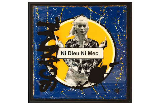 Ni Dieu Ni Mec (Yellow version 50 cm)