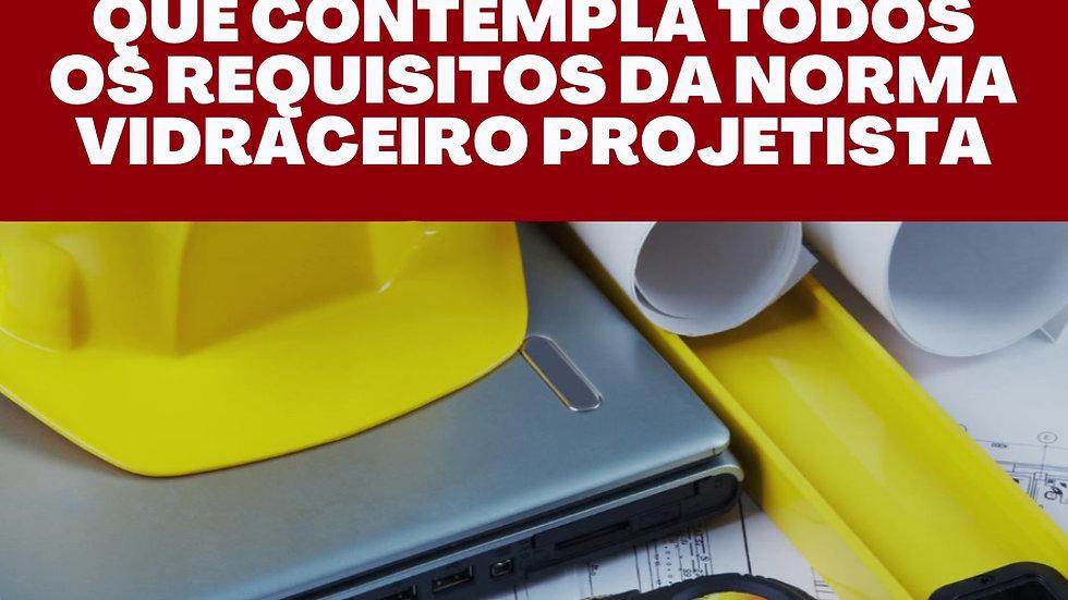 PROJETOS E ORÇAMENTOS DE VIDROS PLANOS ON-LINE - TURMA 2