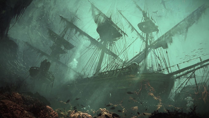 Wreck of La Belle Sauvage