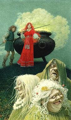 Orddu, Orgoch, and Orwen
