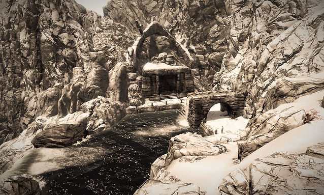 Snowclad Ruins