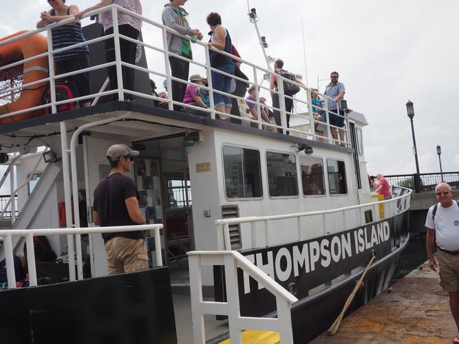Thompson Island ferry