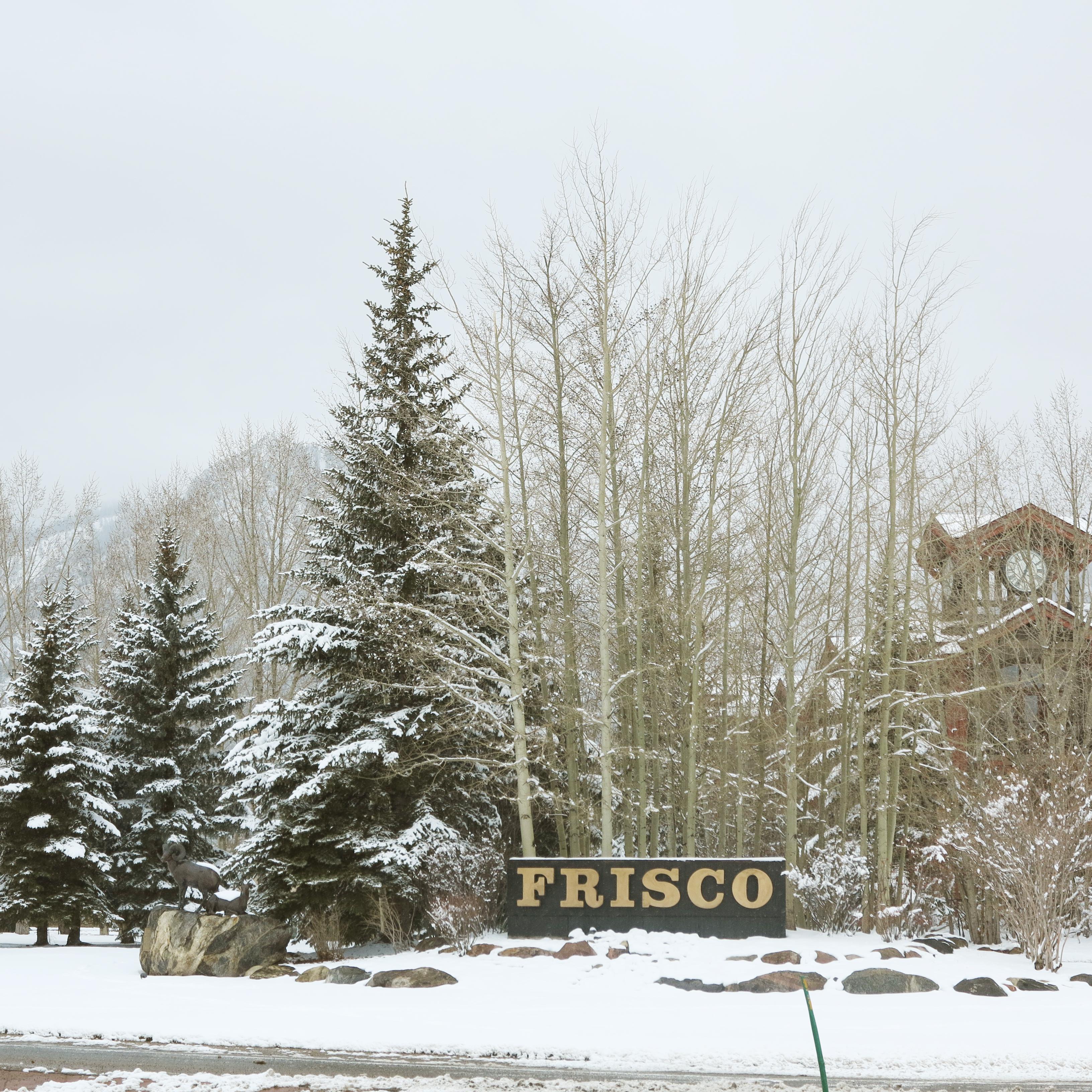 Frisco-sign