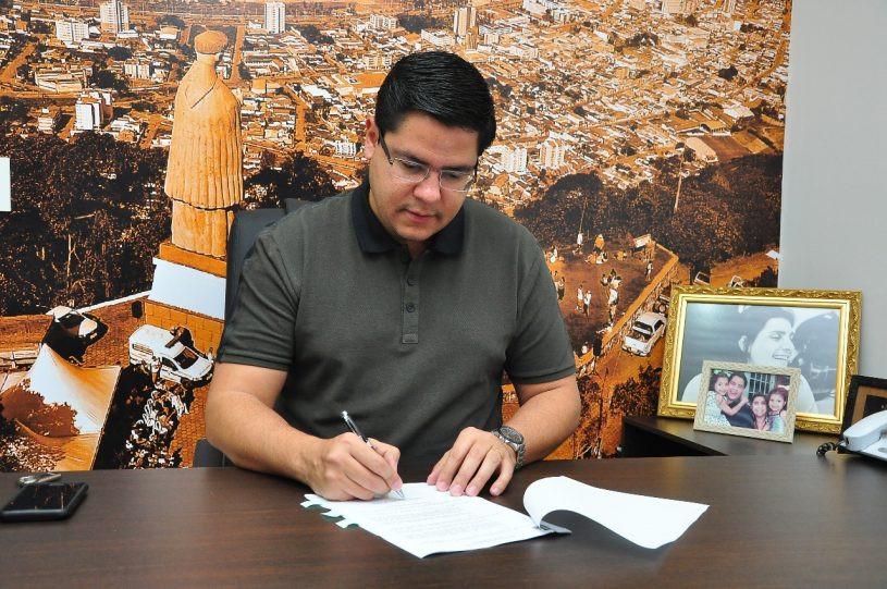 Prefeito de Caraguatatuba Aguilar Jr - Foto: Claudio Gomes/PMC
