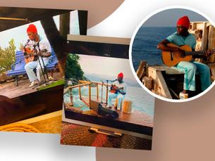 Em live feita em Ubatuba, Seu Jorge faz homenagem a David Bowie e surpreende fãs com repertório incr