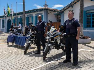 Guarda Civil Municipal de São Sebastião recebe novos equipamentos