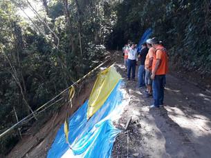 Em Ilhabela, obras dos km 7 e 10 da estrada de Castelhanos começam nesta quarta
