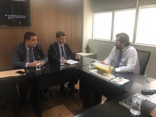 Reunião em Brasília discute obras em creches de Paraty