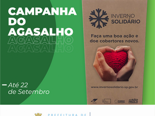 """Prefeitura de Ilhabela inicia campanha """"Inverno Solidário"""" 2021"""